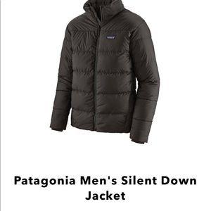 Patagonia Men's Silent Down Jacket Coat Puffer L